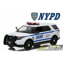 FORD POLICE INTERCEPTOR UTILITY NYPD  1:18