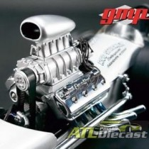 DRAGSTER ENGINE 1:18