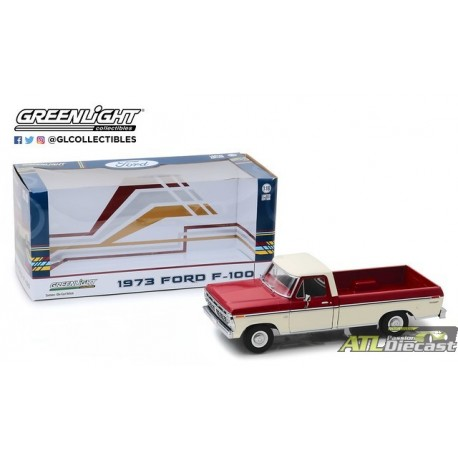 12962 - 1-18 1973 Ford F-100 - Red and White Two-Tone - Pkg (Front,High Res).jpg (78.61 KB)  12962 - 1-18 1973 Ford F-100 - Red