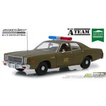 19053 - 1-18 AC - 1977 Plymouth Fury - U.S. Army Police - The A-Team (Front,High Res).jpg (79.29 KB) ATLPASSIONDIECAST.COM