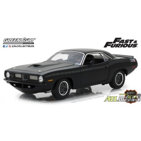 HWY-18005 - 1-18 Highway 61 - Fast & Furious - Fast 7 - Custom Plymouth Barracuda (Back,High Res).jpg (66.86 KB)  HWY-18005 - 1-