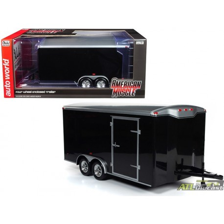 FOUR WHEEL ENCLOSED TRAILER BLACK 1:18  AMM1217__.jpg (251.49 KB)  ATLPASSIONDIECAST.COM