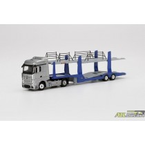 MERCEDES BENZ ACTROS CARS TRANSPORTER TRUCK FULL DIECAST LIMITED EDITION 1:64 atlpassionndiecast.com