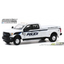2019 Ford F-350 Fort Lauderdale, Florida Police Department Dive Team - Dually Drivers Series 4 - 1:64 Greenlight - 46040 F