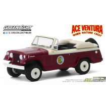 1967 Jeep Jeepster Convertible - Ace Ventura: When Nature Calls (1995) -Hollywood Série 28 - 1:64 greenlight 44880 F