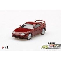 TOYOTA SUPRA JZA80 RED 3600 MADE MIJO EXCLUSIVE  1:64