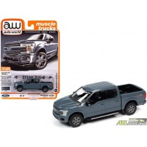 2019 FORD F-150 PICKUP TRUCK ABYSS GRAY  1:64