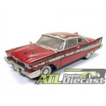 1958 Plymouth Fury CHRISTINE Rusted Dirty Version 1:18