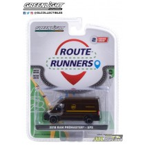 2018 Ram ProMaster 2500 Cargo - United Parcel Service (UPS) - Route Runners Series 2 greenlight 1:64 - 53020 D