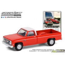 1984 GMC Sierra 2500 Why GMC Diesels Are Growing On -Vintage Ad Cars Series 4 - 1:64 Greenlight - 39060 F atlpassiondiecast
