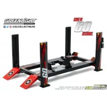 FOUR POST LIFT GONE IN 60 SECONDS 1:18 ATLPASSIONDIECAST