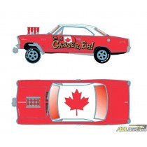 1967 Acadian Canso Sport Deluxe Gasser ( Chevy Nova ) - M2 Machine Hobby Exclusive 1:64 - 31600 GS12 ATLPASSIONDIECAST.COM