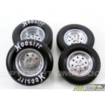 1320 DRAGWHEEL AND TIRE 1:18